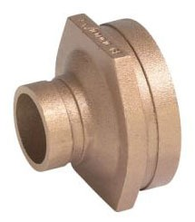 """4 X 3"""" Wrot Copper Concentric Reducer"""