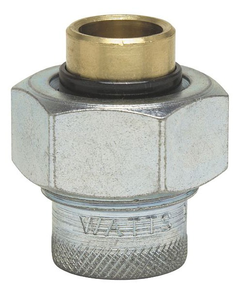 "1"" Lead-Free Brass Dielectric Straight Union"