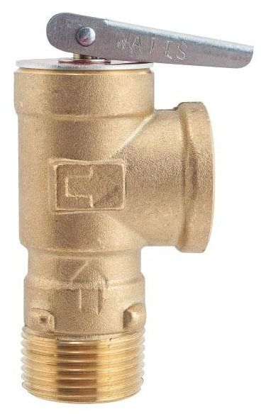 Threaded Relief Valve, Lead-Free Copper Alloy