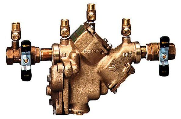 "1"" Cast Copper Silicon Alloy Reduced Pressure Zone Assembly - FPT, 175 psi"