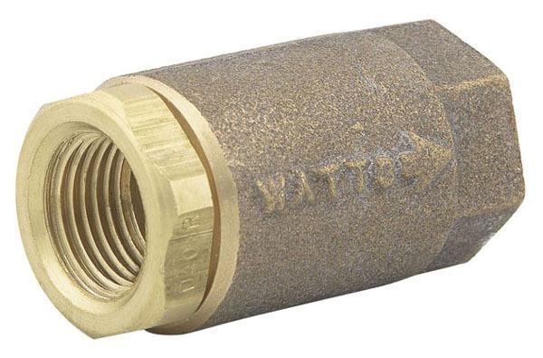 "2"" Cast Copper Silicon Alloy Silent Check Valve - FPT, 400 psi WOG, 15 psi SWP"
