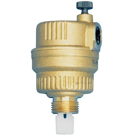 "1/2"" Threaded Air Vent Valve, Brass"
