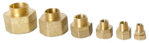 "1/2 X 1/2"" Brass Male Straight Adapter"