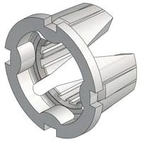 """1/2"""" PVC Grooved Pipe Insert"""