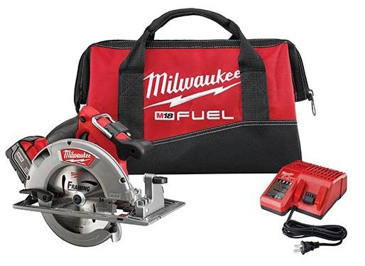"7-1/4"" Cordless Circular Saw Kit - M18, 5000 RPM, 18 V"