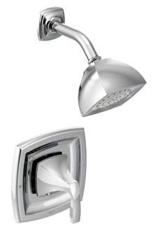 Posi-Temp, Voss Wall Mount Shower Trim, Chrome Plated
