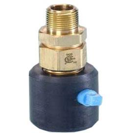 "1-1/4"" Tube x Female Threaded Brass Male Adapter"