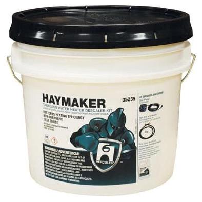 HERCULES, HAYMAKER 32 Oz Liquid Water Heater Descaler, Yellow