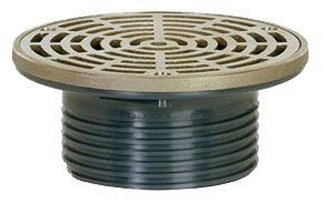 "6-1/2"" Floor Drain, Nickel Bronze"