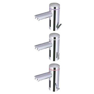 Lumino Deck Mount Electronic Faucet, Chrome Plated