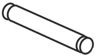 gre 24489 GRE PIN .499X1.87 PIVOT (1800/1801)