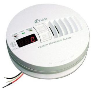 KID 21006407 KN-COP-IC KID AC/DC WIRE-IN CARBON MONOXIDE SMOKE ALARM W/BATTERY BACKUP DIGITAL DISPLAY