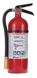 kid 466112 KIDDE ABC PRO MULTI-PURPOSE DRY CHEMICAL FIRE EXTINGUISHER (3-A 40-B:C 5LB)