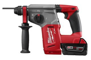 """MIL 2712-22 M18 FUEL 1"""" SDS PLUS ROTARY HAMMER KIT - GET (1) FREE M18 XC5.0 BATTERY (48-11-1850)"""