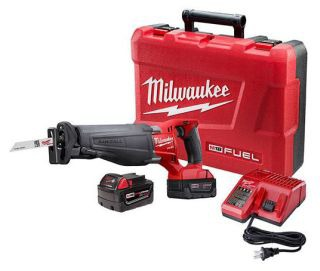 MIL 2720-22 (PROMO) M18 FUEL SAWS ALL KIT WITH (2) BATTERIES - GET (2) FREE M18 5.0 EXTENDED CAPACITY BATTERY PACKS (48-11-1852)