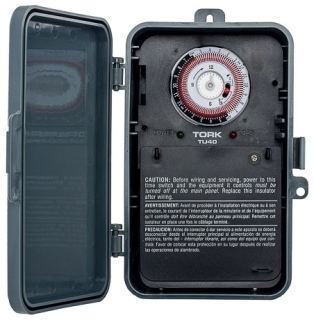TORK TU40 ELECTROMECHANICAL TIMER, 40 AMPS