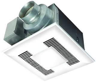 pns FV-11VQL6 PNS WHISPERLITE FAN-LIGHT 110CFM 0.5 SONE (2)13W SELF BALLASTED GU24 CFL LAMPS