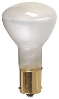 (S1383) 1383 20W 13V R12 SINGLE CONTACT (SC) BAYONET BASE INCANDESCENT MINIATURE REFLECTOR FLOOD LAMP