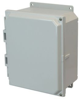 ALM AMP1084HF ALLIED 10X8X4 POLY CARBONATE OPAQUE