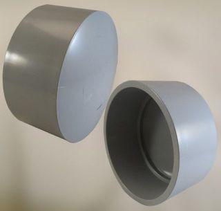 CTX 5140041 5-IN PVC END CAP