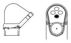 PVC 1-IN-PVC-SVC-ENT-CAP SERVICE ENTRANCE CAP