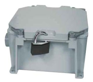 KRALOY 278304 JBX664 6X6X4 PVC JUNCTION BOX