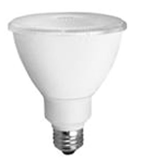 TCP LED12P30D30KFL TCP 12W PAR30L 3000K 875 LUMEN DIMMABLE 40DEG LED LAMP