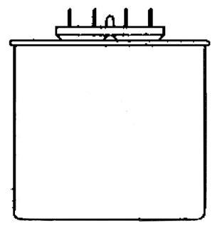 ULT 005-1185-BH 15MFD 400V BAL/CAP 250wMH OIL-FILLED