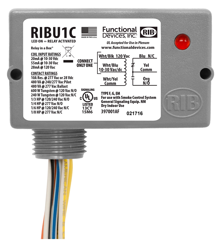 2356000 RIBU1C MULTI-VOLTAGE ENCLOSED PILOT