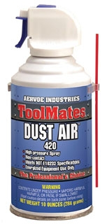 AERVOE 420 12OZ DUST AIR CAN *MADE IN USA*