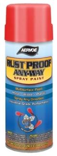 AERVOE 301 RED 16-OZ RUST-PROOF SPRAY PAINT