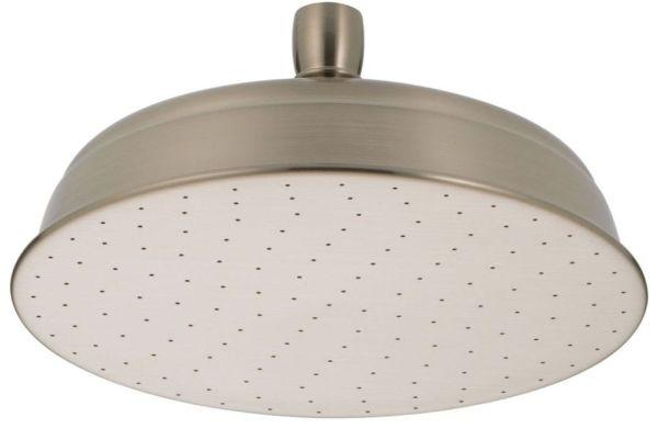 1-Setting 2.5 GPM Raincan Shower Head - Brilliance Stainless Steel