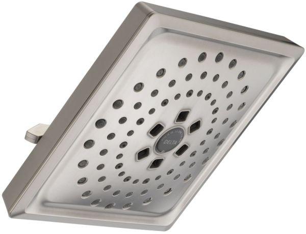 3-Setting 1.75 GPM Raincan Shower Head - Brilliance Stainless Steel