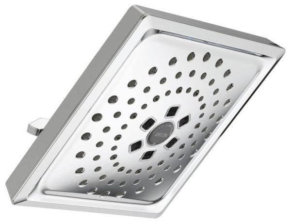 3-Setting 1.75 GPM Raincan Shower Head - H20kinetic, Chrome Plated