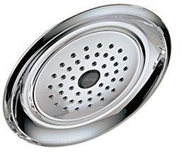 1-Setting 1.75 GPM Raincan Shower Head - Chrome Plated