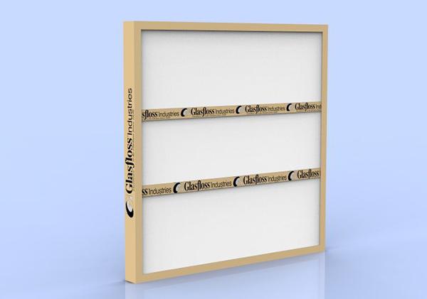 "16"" x 20"" x 1"" Disposable Panel Filter - Fiberglass Media, 300 FPM ( 7110160 7111620 )"