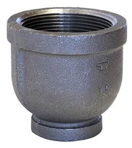"1"" X 3/4"" Galvanized Malleable Iron Reducer Domestic"