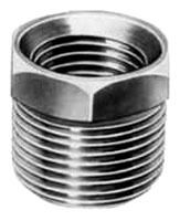 "1/2"" X 1/8"" Merchant Steel DWV Hex Head Reducing Bushing"