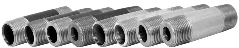 "1-1/4"" X 4-1/2"" Seamless Steel Nipple"