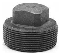 """1/8"""" Forged Steel Square Head Plug"""
