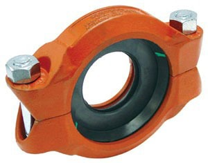 "4"" X 3"" Ductile Iron/Malleable Iron Reducing Coupling"
