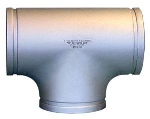 "3"" 304 Stainless Steel Straight Tee"