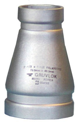"""6 X 3"""" 304 Stainless Steel Concentric Reducer"""