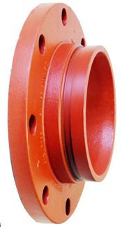 """6"""" Ductile Iron Raised Face Flange Adapter"""