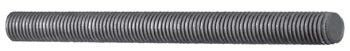 "1/4"" Straight Continuous Threaded Rod, Carbon Steel"