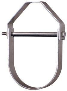 "3/4"" Carbon Steel Light Duty Adjustable Clevis Pipe Hanger"