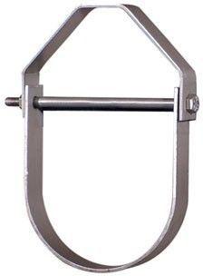 "2"" Carbon Steel Light Duty Adjustable Clevis Pipe Hanger"