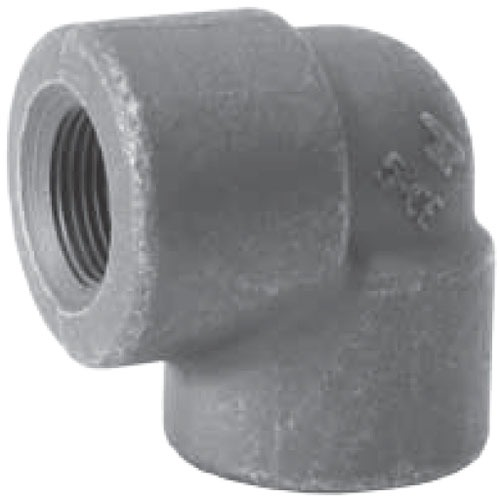 """1-1/2"""" Forged Carbon Steel Import 90D Elbow"""