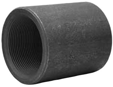 """3"""" Forged Carbon Steel Straight Coupling"""