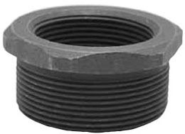 """1/2"""" X 1/4"""" Forged Carbon Steel Outside Hex Head Reducing Bushing"""